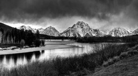 Storm over the Snake River