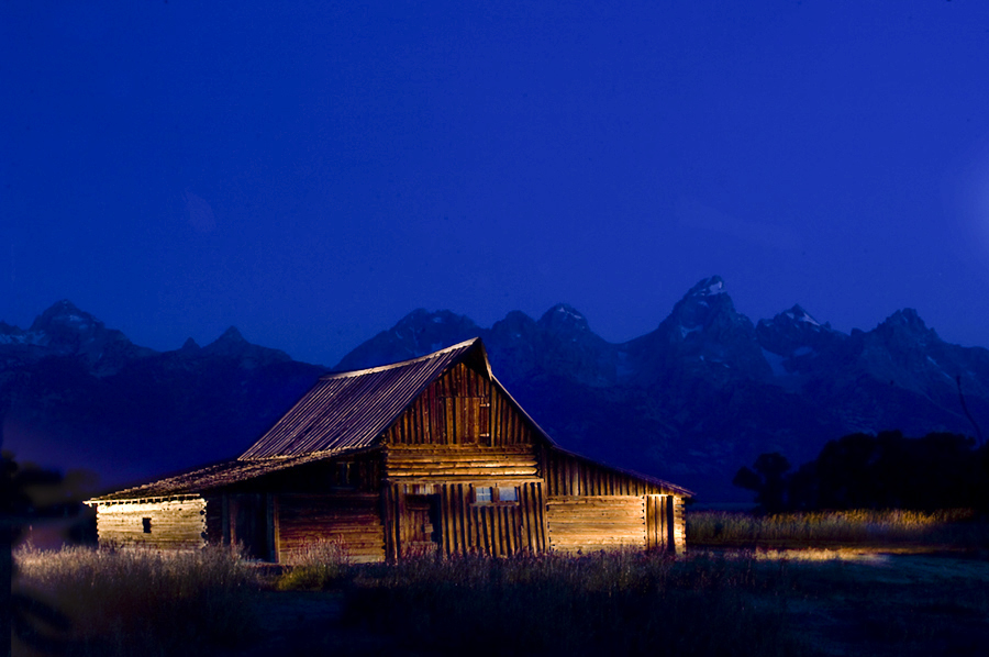 Mormon Barn, Grand Tetons National Park