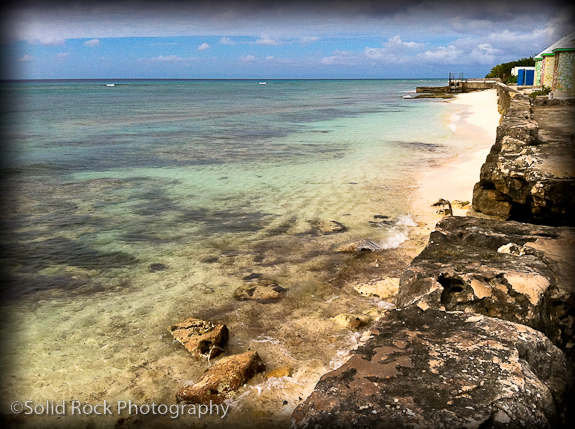 The Sea Wall at Grand Turk