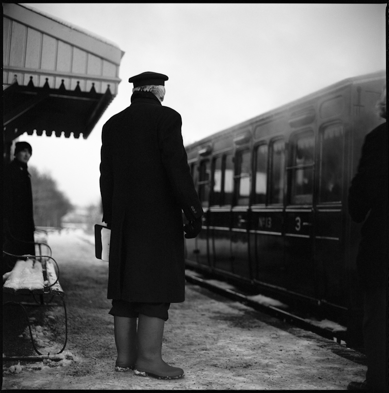 Railway Guard, Mid-Suffolk Light Railway, 2009