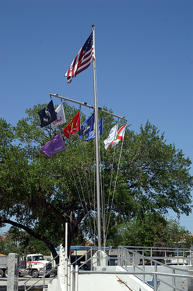 War Memorial in Okeechobee, Florida