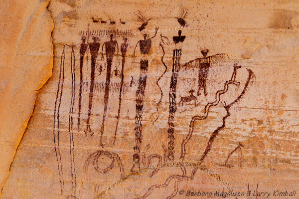 Pictograph, Barrier Canyon style