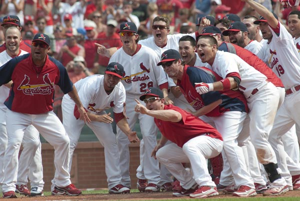 MLB:  JUN 05 Cubs at Cardinals