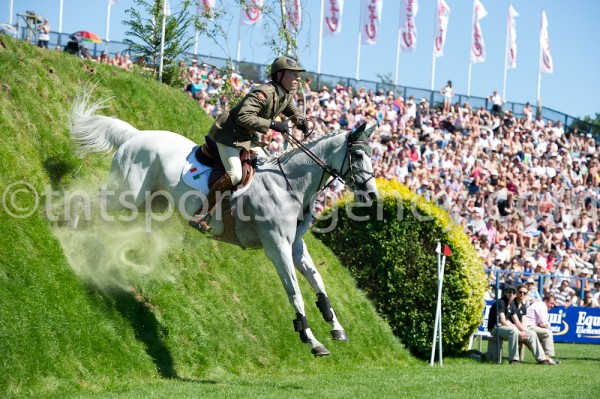 26.06.2011 The British Jumping Derby Meeting Hickstead, Sussex, UK, Carpetright Derby, David O'Brien (IRL) riding MO CHROI
