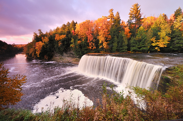 'Tahquamenon Sunrise' ~ Michigan's Upper Peninsula