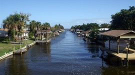 Florida Residential Canal