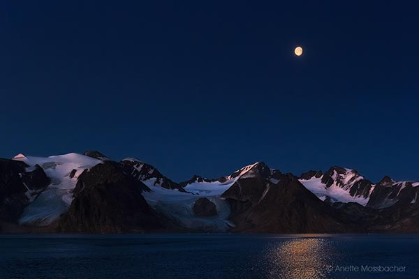Landscape - Night Photo - Arctic Region - Svalbard