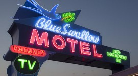 Blue Swallow Motel in Tucumcari, New Mexico