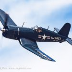F4U Corsair in Flight